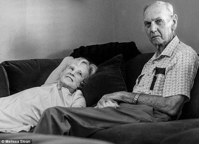 Sakit: Maxine telah berjuang dengan kanker untuk beberapa lama , sementara Don jatuh dan menyebabkan pangkal pahanya patah. - Daily Mail