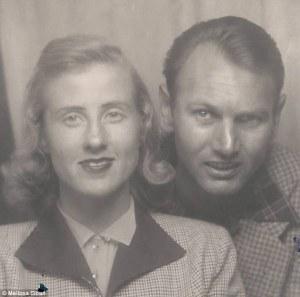 Pasangan ini pertama kali bertemu di lorong bowling Bakersfield, California - Daily Mail
